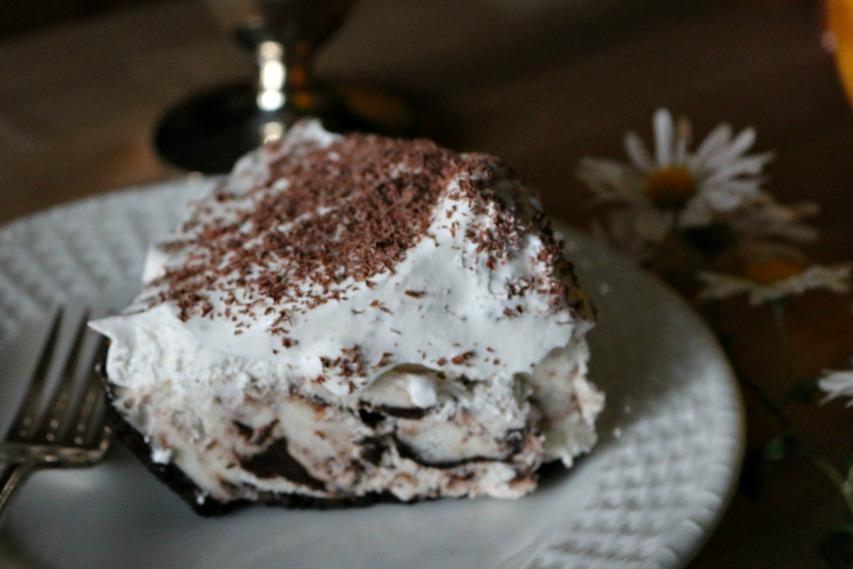 Moose Tracks Ice Cream Cake Recipe