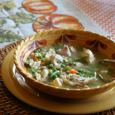 30-Minute Chicken Soup