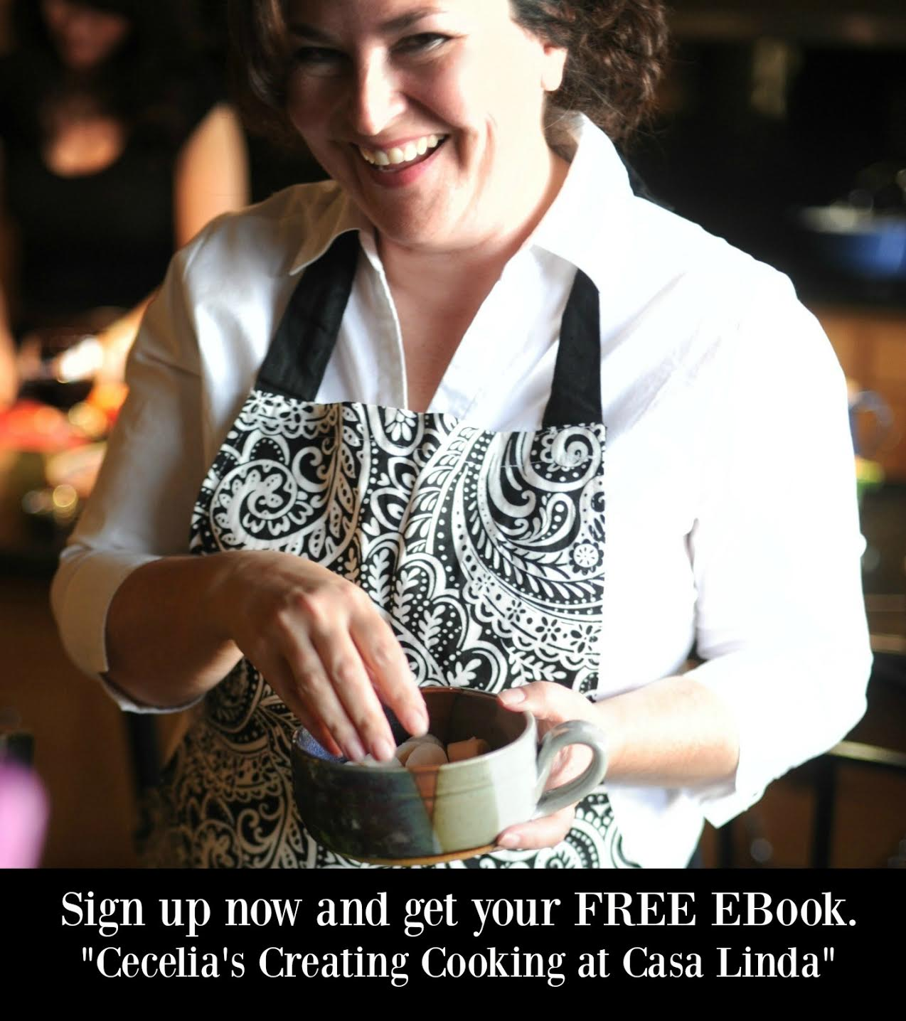 Cecelia's Good Stuff - Get a FREE Ebook when Sign up for my weekly email | www.CeceliasGoodStuff.com | Good Food for Good People