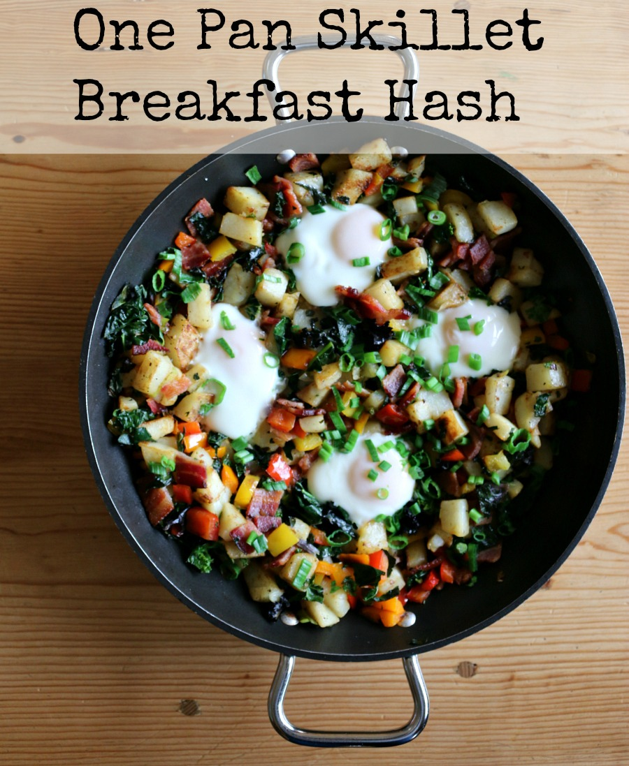 Easy Recipe for One Pan Skillet Breakfast Hash Image