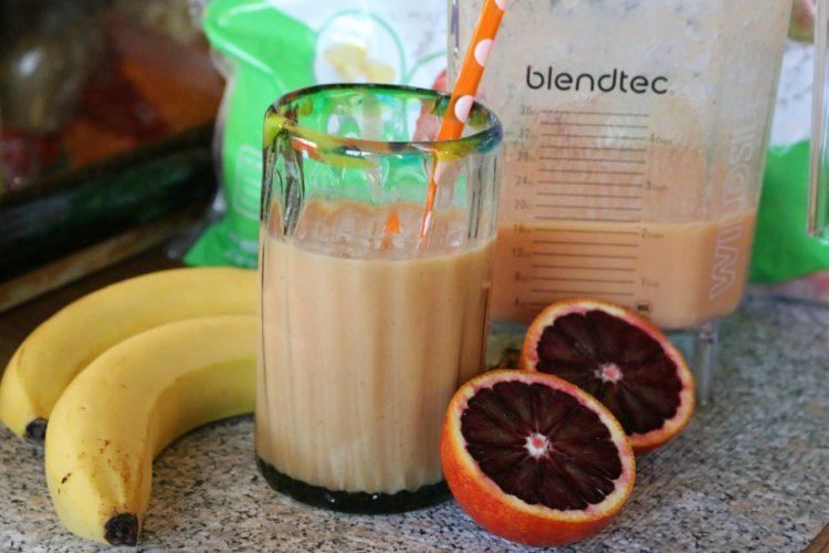 Blood Orange Breakfast Smoothie