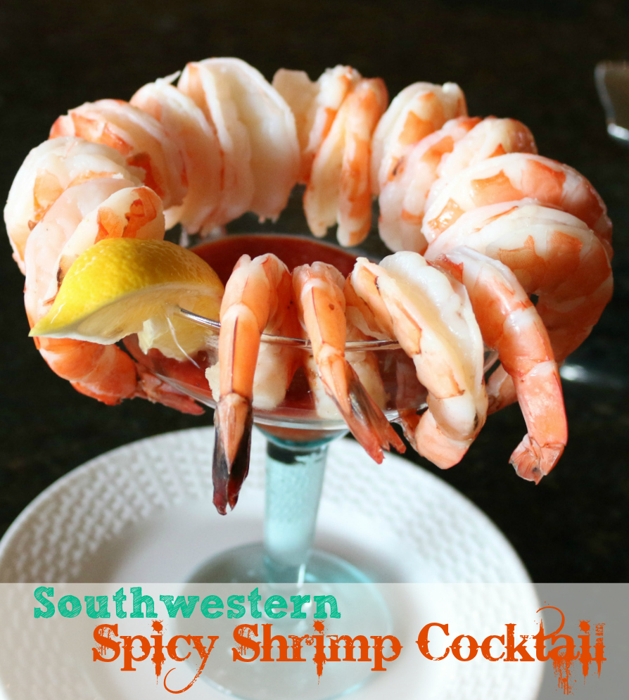 A Spicy Southwestern Shrimp Cocktail Recipe