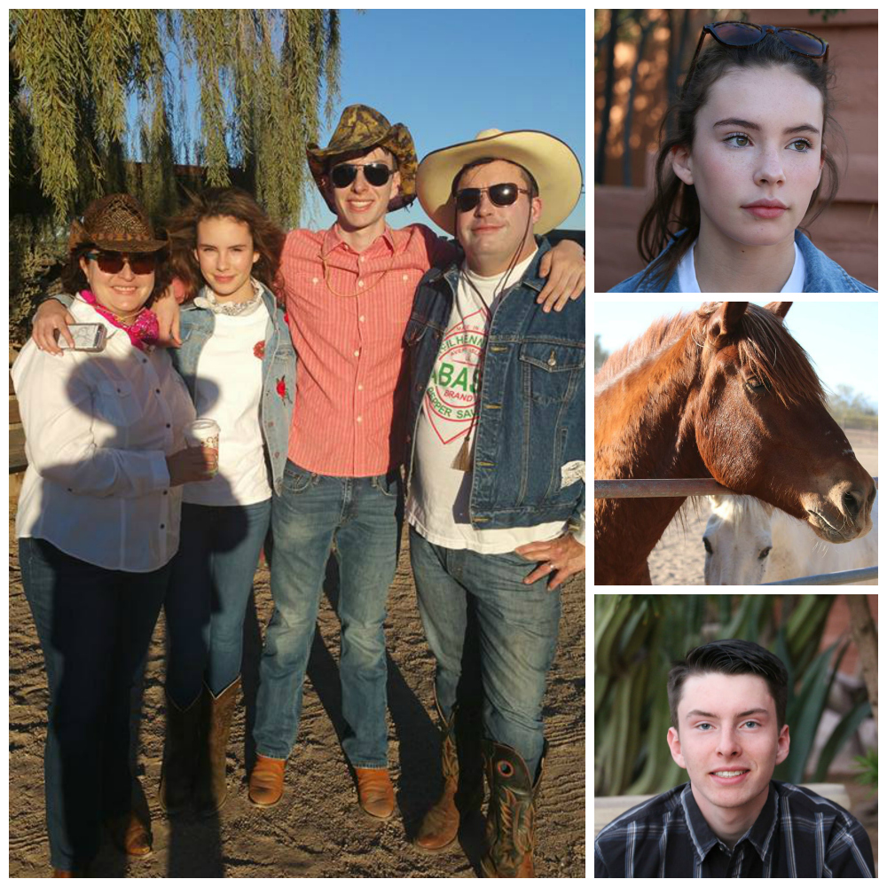 Family fun in Tucson, Arizona at the White Stallion Guest Ranch