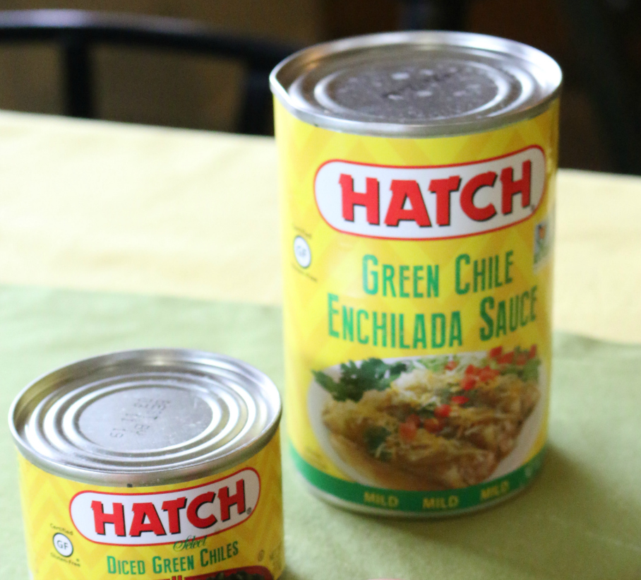Hatch Green Chile Enchilada Sauce for Green Chile Chicken Enchiladas - CeceliasGoodStuff.com