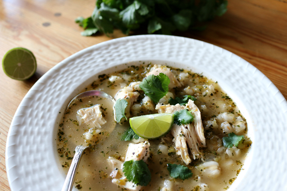 Green Chile Tortilla Soup | CeceliaGoodStuff.com | Good Food for Good People