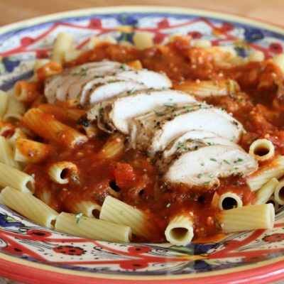 Rigatoni with Italian Herb Grilled Chicken