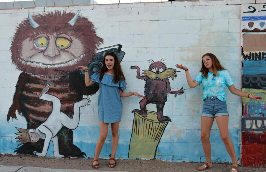 Girls just wanna have fun . . . . more fun photos around Albuquerque, New Mexico