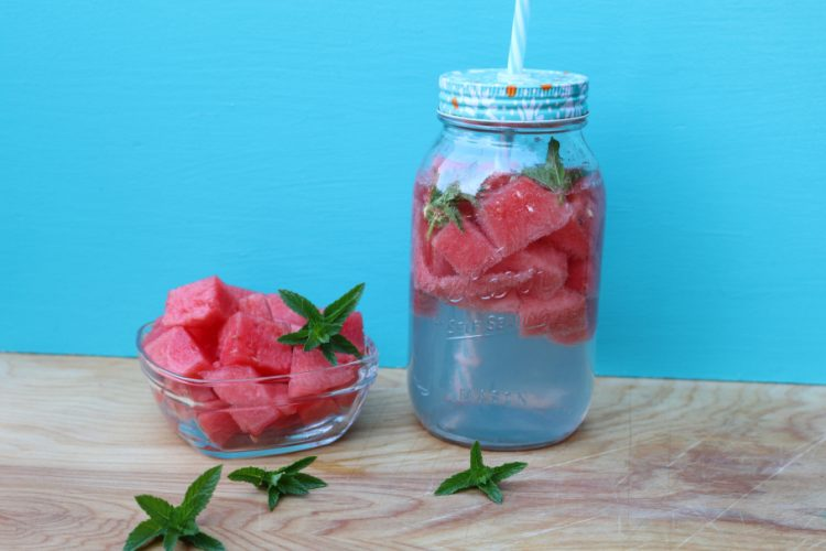 Watermelon Mint Aqua Fresca