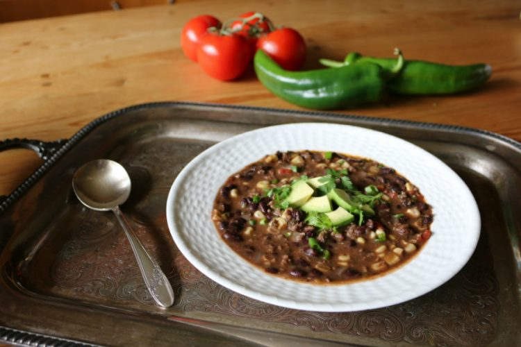 Southwestern Black Bean Soup