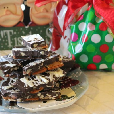 Almond Pretzel Bark