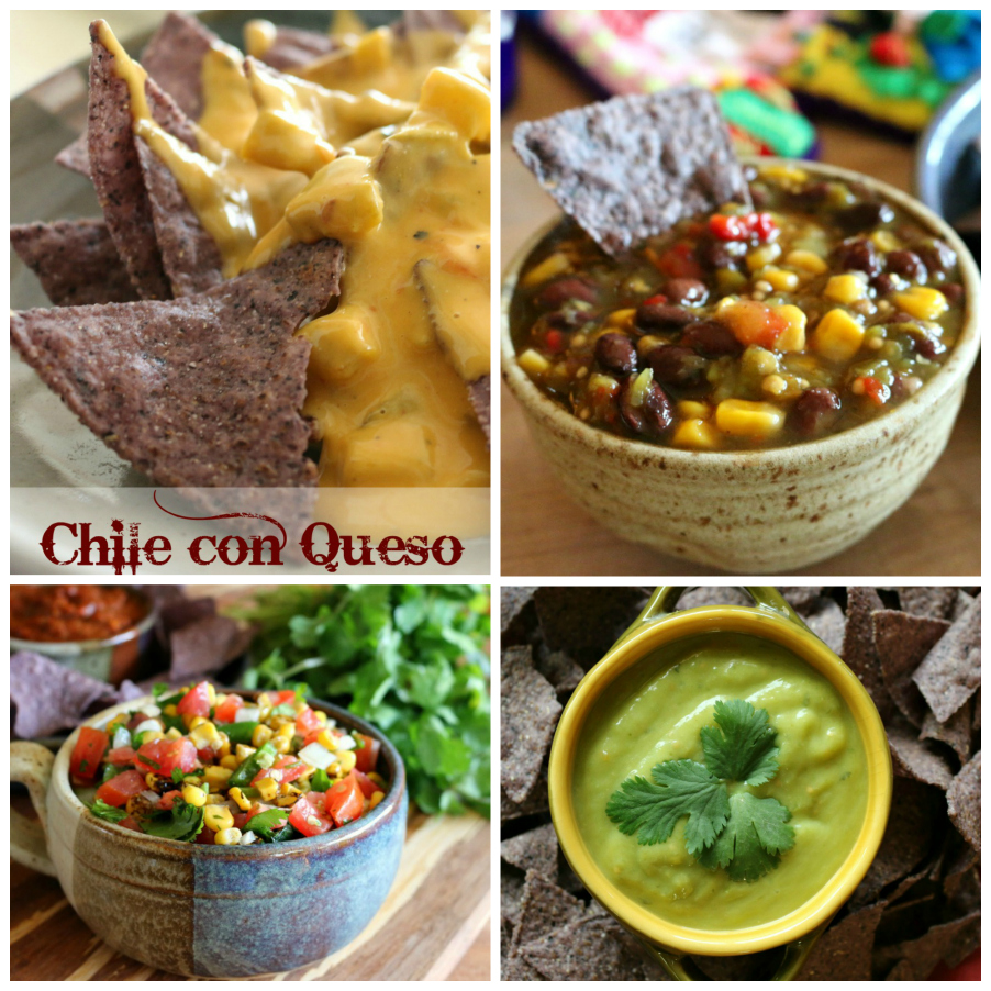 See more Cinco De Mayo Recipe ideas here: Picture above is Salsa 4 Ways CeceliasGoodStuff.com | Good Food For Good People