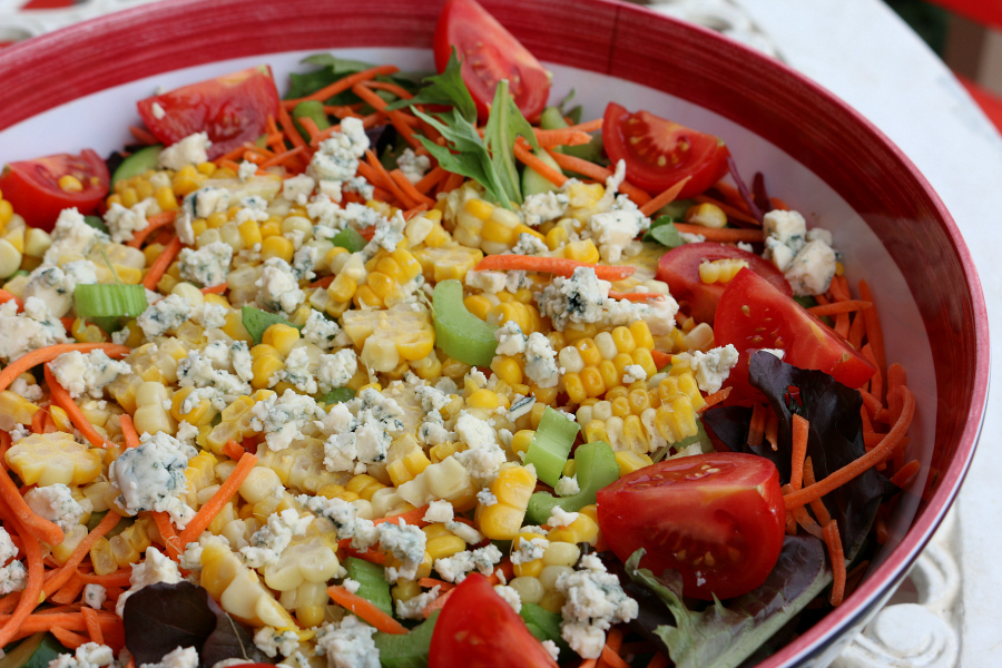 Corn Salad Recipe CeceliasGoodStuff.com Good Food for Good People